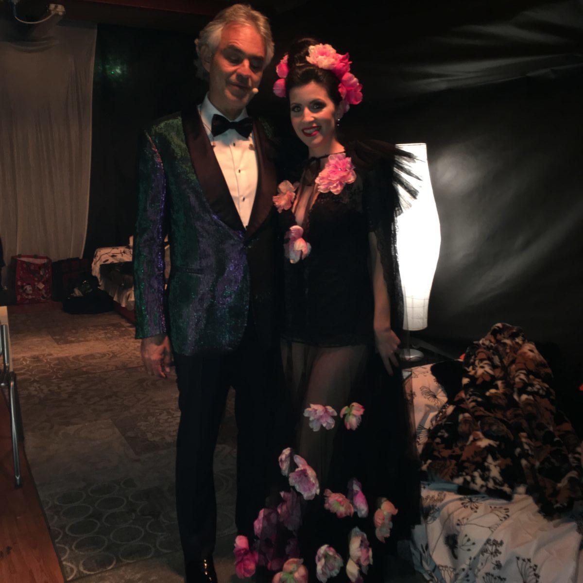 Andrea Bocelli e Laura